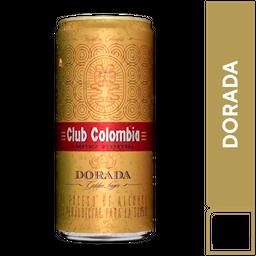 Cerveza club Colombia lata
