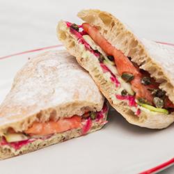 Sándwich de Salmón