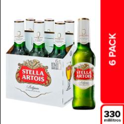 6 Pack Stella Artois 330 ml