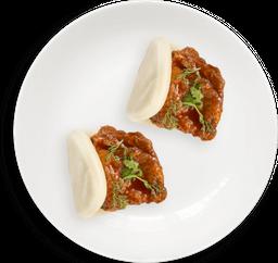 Bun kfc (koren fried cauliflower)