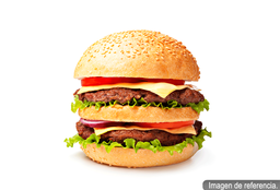 Hamburguesa Doble Carne