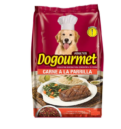 Alimento Dogourmet Carne a la Parrilla Adulto 8 Kg