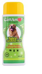 Talco Desparasitante Can Amor Garrapatas y Piojos 100 g
