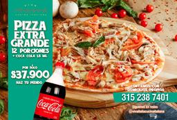 ¡PROMO! Pizza Extragrande