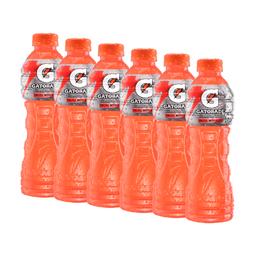 6 Un Bebida Hidratante Frutas Tropicales  Gatorade    500 Ml