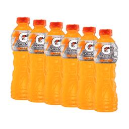 6 Un Bebida Hidratante Mandarina  Gatorade  Botella Pet 500 Ml