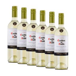 6 Un Vino Casillero Del Diablo Sauvignon Blanc 750