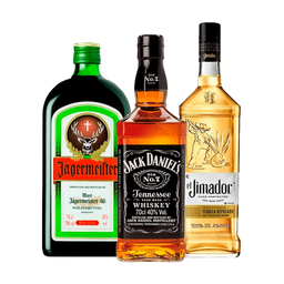 Jack Daniels + Tequila Jimador Reposado +  Jägermeister