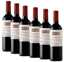6 Un Vino Adobe Cabernet Sauvignon 750