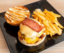 Combo Jr. Bacon Burger
