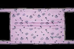 Tapabocas reutilizable, estampado en tela anti-fluido