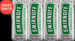 Rappicombo Smirnoff ice green lata + fourpack