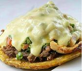 Shawarma Patacón una proteina