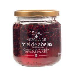 Miel de Abejas con Mora y Fresa