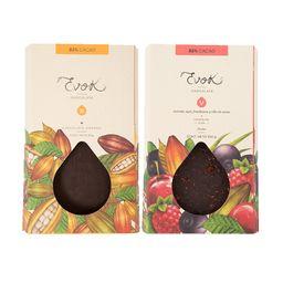 Kit Barras 82% Cacao