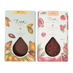Kit Barras 40% Cacao sin Azúcar Añadida