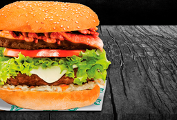 Hamburguesa Doble Carne Especial