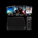 TV Box Tigers Smart TV 8Gb-Negro