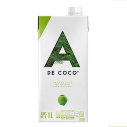 Agua De Coco 100% Natural A De Coco 1 Litro