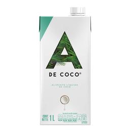 a de Coco Bebid Natural