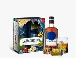 Pack Ron Extra Añejo La Hechicera Botella 700 Ml