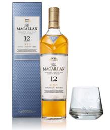 Whisky Macallan 12 Años X 700 Ml Gratis Vaso Crist