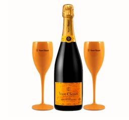 Veuve Clicquot Brut X 750 Ml Gratis 2 Copas