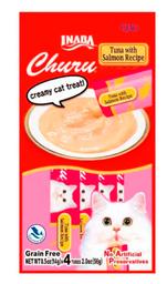 Snack Gato Churu Cremoso Atun Y Salmon 56 Gr