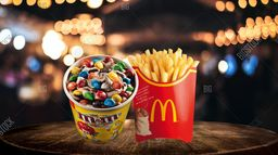 McFlurry M&M y Papas Grandes