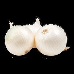 Cebolla Cabezona Blanca Pequeña Limpia