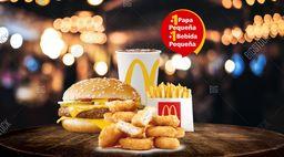 McCombo™ Cuarto de Libra con Queso + Nuggets x10