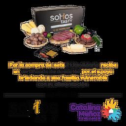 Kit De Asado Soy Tasty Para 5 Personas + Certificado De Donacion