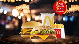 Mc Combo McNifica + Mc Combo Doble Hamburguesa con Queso