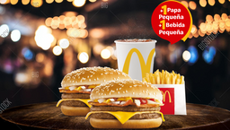 McCombo™ 2 Doble Hamburguesas con Queso