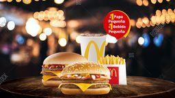 Mc Combo Triple Hamburguesa conQueso + Mc Combo McBacon
