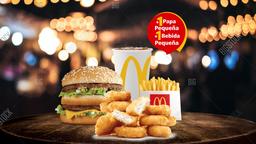Mc Combo BigMac + Mc Combo Nuggets x10