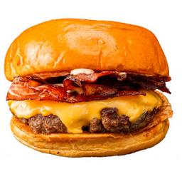 "Hamburguesa ""bacon Cheese"""