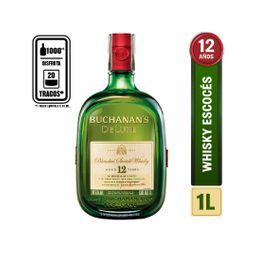 Whisky Buchanans Delux 12 Años Litro