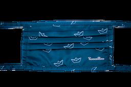 Tapabocas para hombre reutilizable estampado en tela anti-fluido