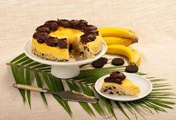 Cheesecake Banano Cacao