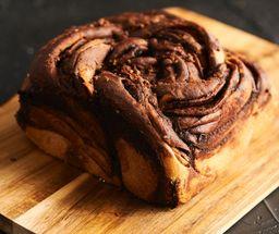 Pan de nutella con brownie
