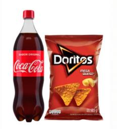 Coca Cola X1.5 Lt + Doritos Mega Queso X185G