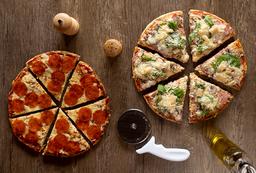 Pizzeta 2 sabores