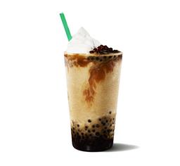 Caramel Frappuccino con Esferas de Café