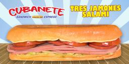 Cubanete 3 Jazmines y Salami Grande