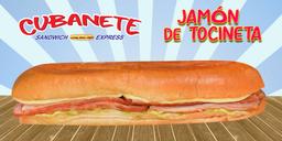 Cubanete de Jamón de Tocineta