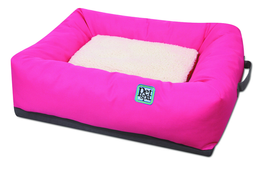 Cama Sofa para Perros y Gatos Oxford Rosado 14SF001C PS 64 CM