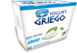 Alpina Yogurt Griego Sin Azúcar