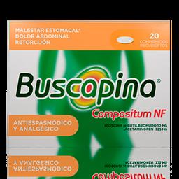 Buscapina Compostium Nf 10/325Mg X 20 Comprimidos