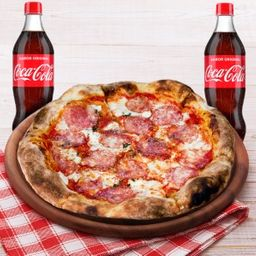 Combo Pizza Diavola